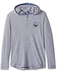 Bench mens Loose Striped Hoodie