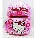 Backpack - Hello Kitty - Pink Flower Bow Large Girls School Bag New - Best Reviews Guide