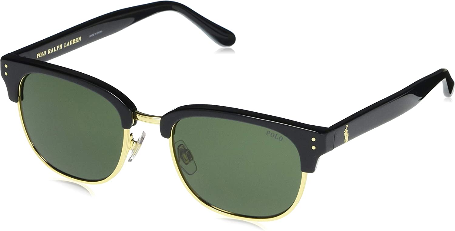 Ralph Lauren POLO 0PH4152 Gafas de sol, Black Gold, 54 para Hombre ...