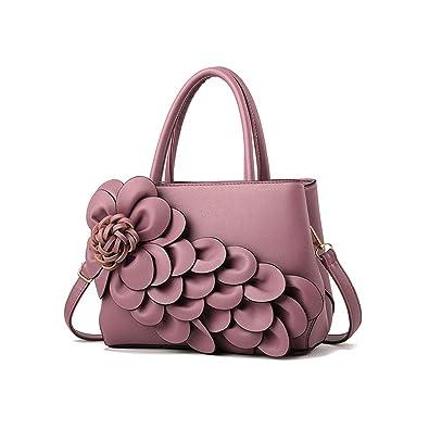 df329c1ee59 Ladies Luxury Bags Big Flower Women Leather Handbags Designer Bag ...