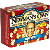 Newman's Own OldStyle Picture Show Microwave Popcorn, Butter Pop - 3 ea , 10.5 oz (298g)