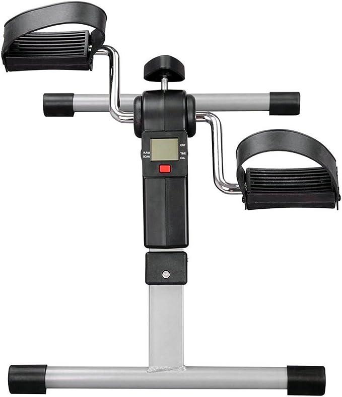 Mini Bicicleta Estática Plegable Máquina Pedalear Manos Piernas ...