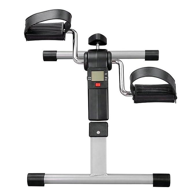 Mini Bicicleta Estática Plegable Máquina Pedalear Manos Piernas Rehabilitación: Amazon.es: Deportes y aire libre