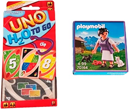 FM Packs Pack UNO H2O To Go & Playmobil Milka 70164: Amazon.es ...