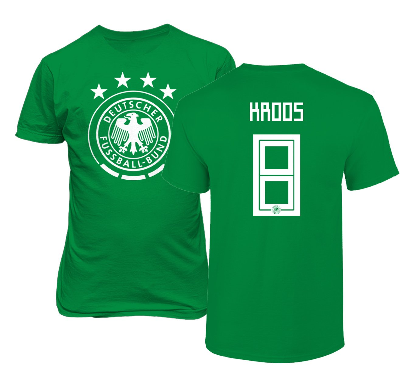 30f66c98 Amazon.com : Tcamp Germany 2018 National Soccer #8 Toni KROOS World  Championship Men's T-Shirt : Sports & Outdoors