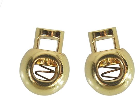 Gold Shoelace Locks for Shoe Laces