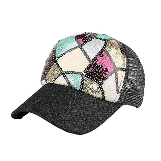 673c7633e06 Amazon.com  Ximandi Fashion Colorful ShinyHats