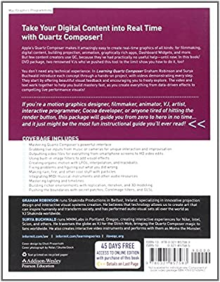 Learning Quartz Composer: A Hands-On Guide to Creating Motion Graphics with Quartz Composer from Addison-Wesley Professional