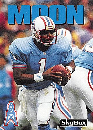 Warren Moon Football Card (Houston Oilers) 1992 Skybox  50 at ... dfab8c663