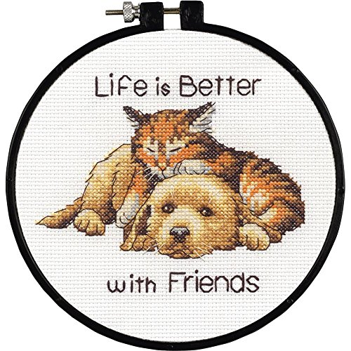 Dimensions Better with Friends Counted Cross Stitch Kit, 72-