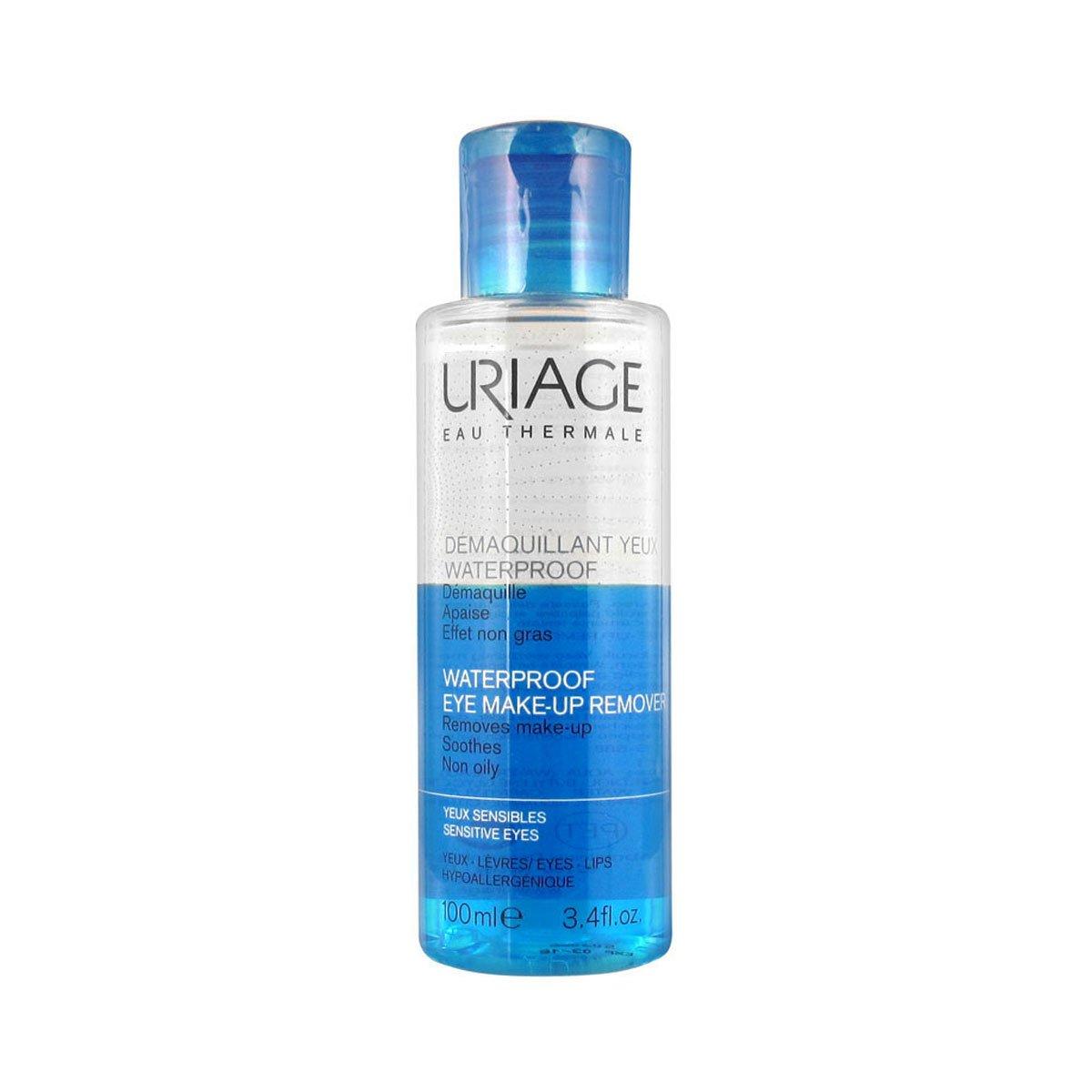 Uriage Waterproof Eye Make-up Remover 100ml 28159