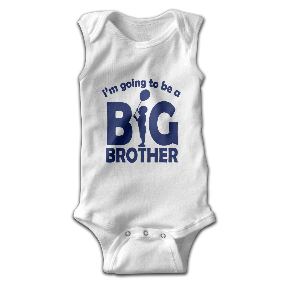 Toddler Baby Girls Rompers Sleeveless Cotton Jumpsuit,Im Going to Be A Big Brother Bodysuit Autumn Pajamas