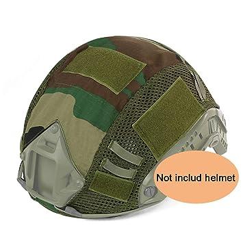 ATAIRSOFT Airsoft Tactical Helmet Cover para PJ/BJ / MH Tipo Casco rápido con Bolsa