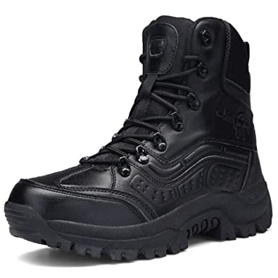 Amazon.com | DSFGHE Mens Boots Chelsea Outdoor Combat Boots Military Ankle Combat Boot Hiking | Chelsea