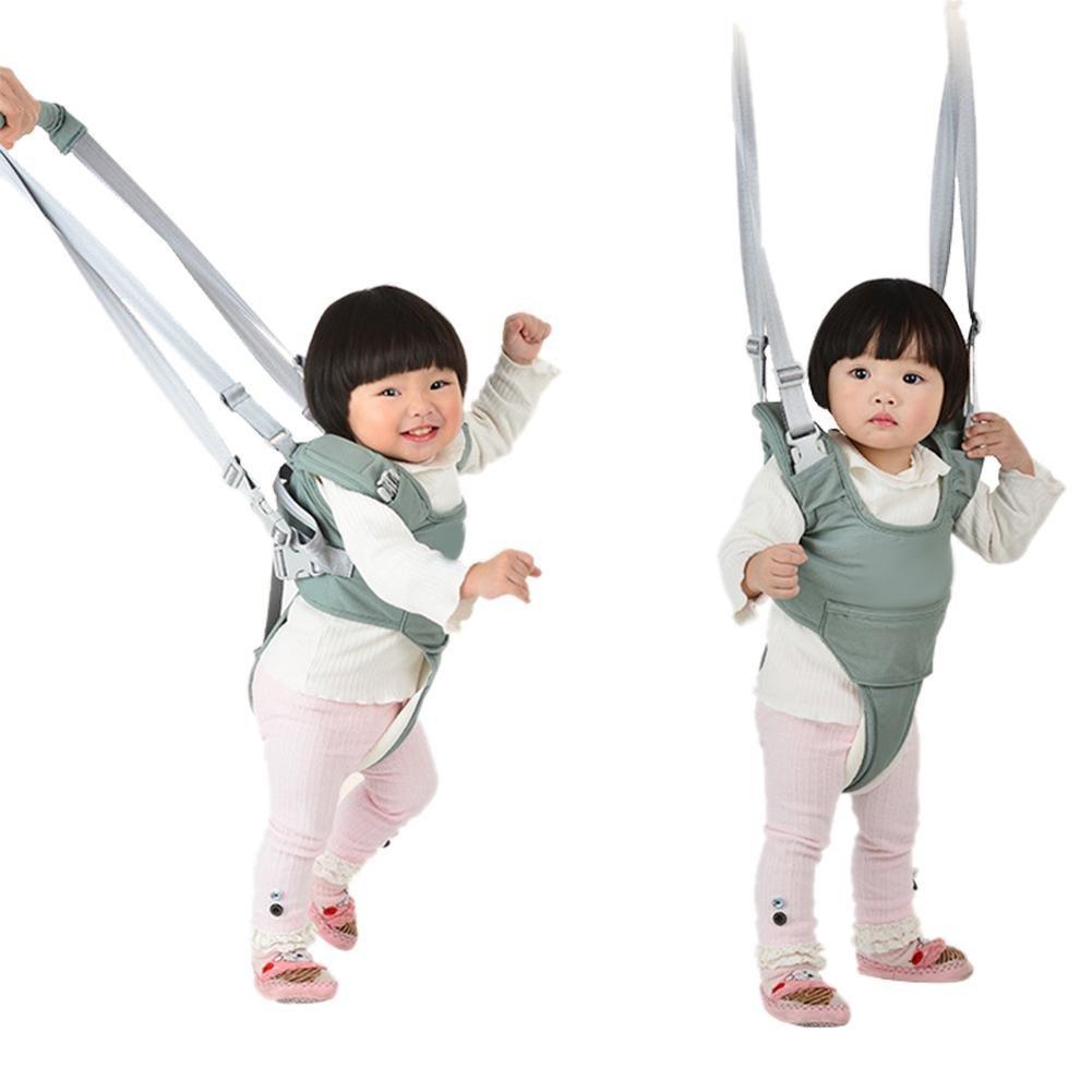 Harness mit abnehmbaren Schritt Walking Assistant einstellbar Sicherheitsgurte Walker f/ür 6-18 Monate Kinder zu gehen Per Baby lernen