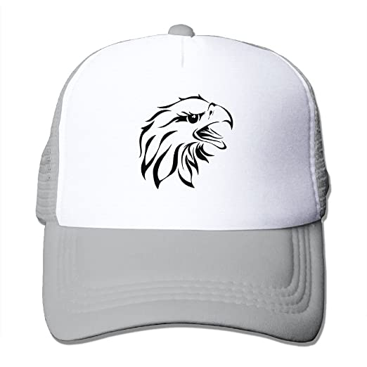 b8d699c0f93 Image Unavailable. Image not available for. Color  Mesh Hat Baseball Caps  Grid Hat Eagle Head ...