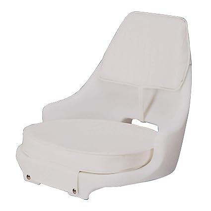 Amazon.com: Moldeado asiento de barco con brazos: Sports ...