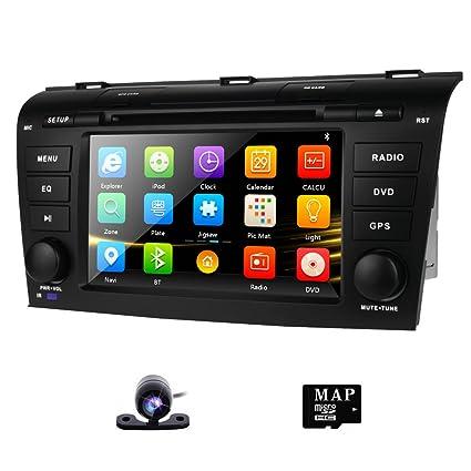 amazon com dvd gps navigation for mazda 3 2004 2009 radio stereo rh amazon com Mazda 3 Navigation Mazda Navigation Card
