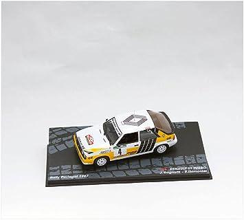 Coches Rally IXO 1:43 1:43 Renault 11 Turbo Ragnotti-Thimonier. Portugal 1987 RAL116: Amazon.es: Juguetes y juegos