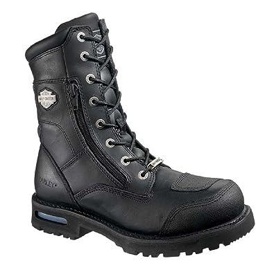 Amazon.com | Harley-Davidson Men's Riddick Boot, Black ...