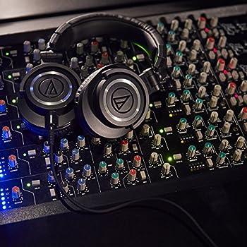 Audio-technica Ath-m50x Professional Studio Monitor Headphones, Black 6