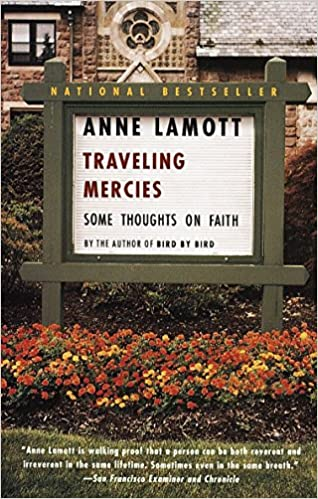 Anne Lamott Traveling Mercies book cover.