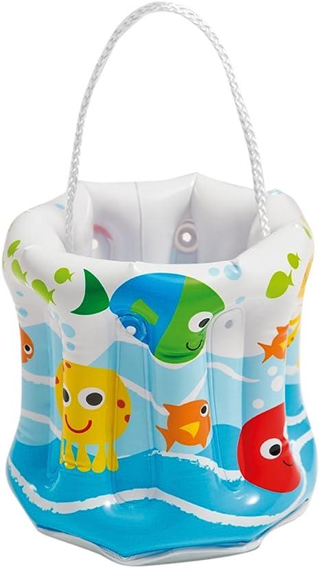 Intex 58681NP - Cubo hinchable playa & piscina 19 x 19 cm: Amazon ...
