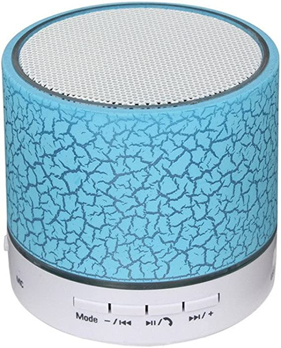 Bluetooth Wireless Speaker Mini SUPER BASS Portable For iPhone Samsung PC Blue