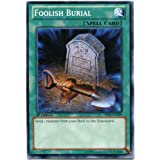 - Foolish Burial 1st Edition YuGiOh Rare M//NM 1x DPBC-EN025