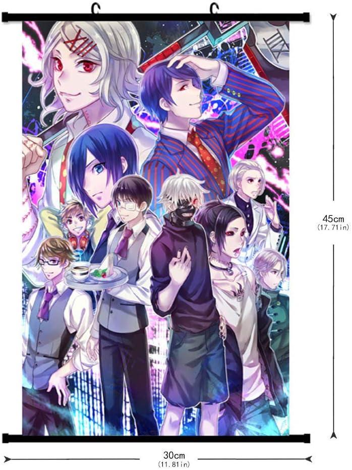 Tokyo Ghoul Poster Kaneki Ken Wall Scroll Home Bedroom Decor Anime Fans Gift Hot