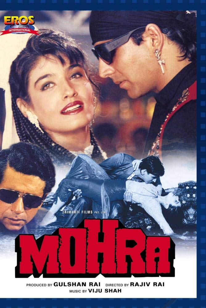 Mohra 1994 Hindi 720p HEVC HDRip x265 AAC ESubs Full Bollywood Movie [600MB]