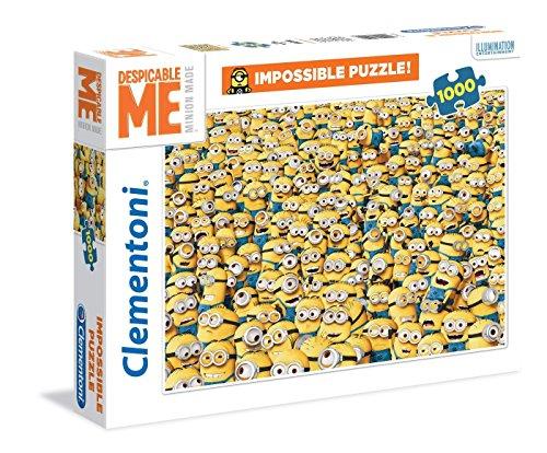 "Clementoni ""Minions Impossible"" Puzzle (1000 Piece)"
