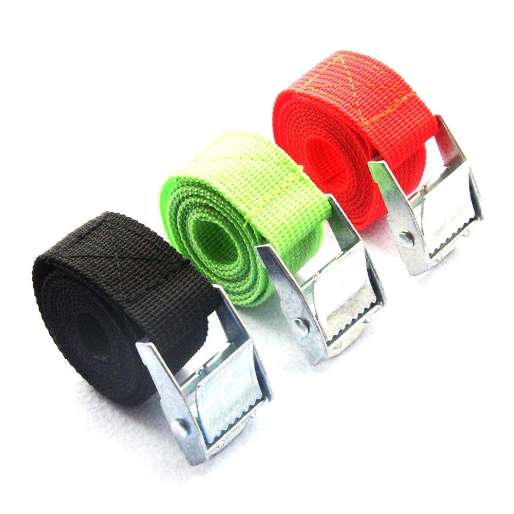 /Cintura regolabile cinghie Bagaglio Lashing Tie/ cinghie di carico forte cricchetto 200/cm x 25/mm