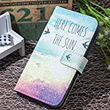 iPhone Xs Max Case Credit Card Holder iPhone Xs Max Case Wallet iPhone Xs Max Wallet Case for Men Case for iPhone Xs Max Wallet Cover Protective iPhone Max Xs Case Case for (Sunset, iPhone 6P 6SP)