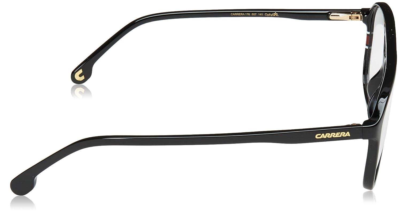 37c85c10363 Amazon.com  Carrera 176 Eyeglass Frames CA176-0807-5416 - Black Frame