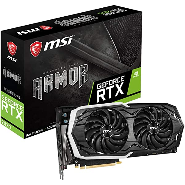 MSI RTX 2070 Armor 8G GeForce RTX 2070 8 GB GDDR6 - Tarjeta ...