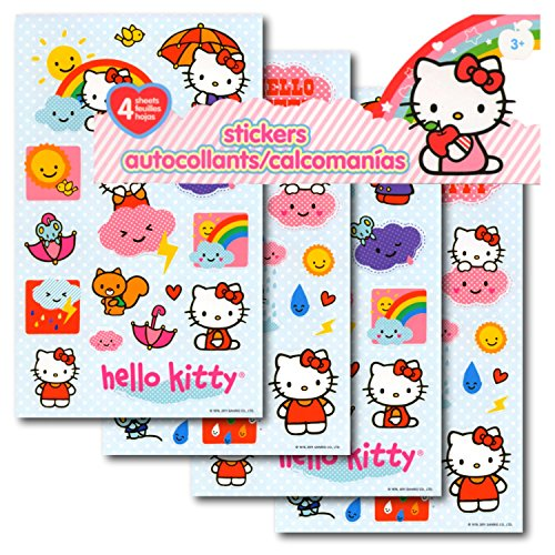 Hello Kitty Stickers 4 Sheets