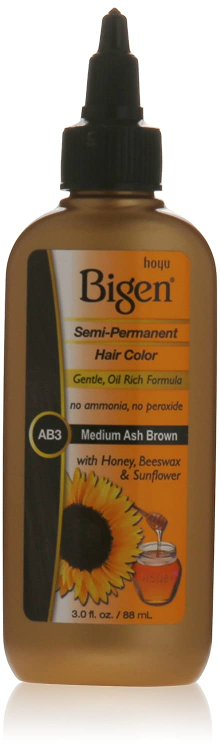 Amazon Bigen Semi Permanent Hair Color Medium Ash Brown 30
