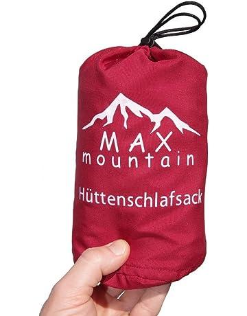 Max Mountain - Saco de dormir para de microfibra, 300g, ligero,