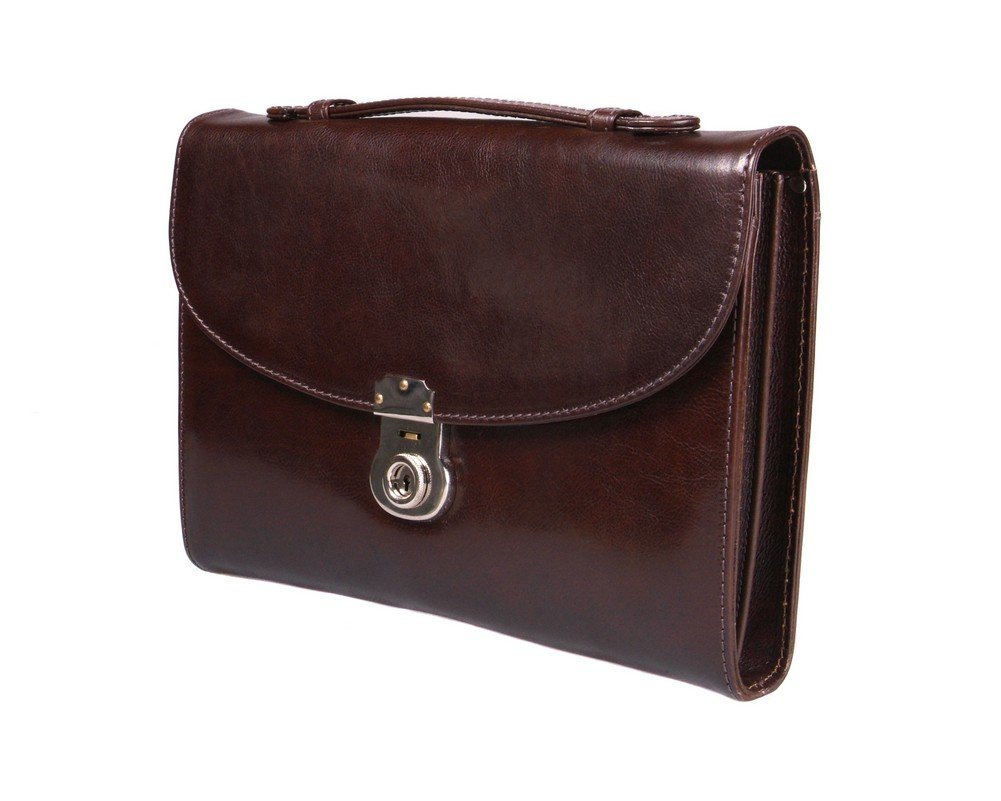SAGEBROWN Brown Vintage Windsor Briefcase   B01ERKIPFA