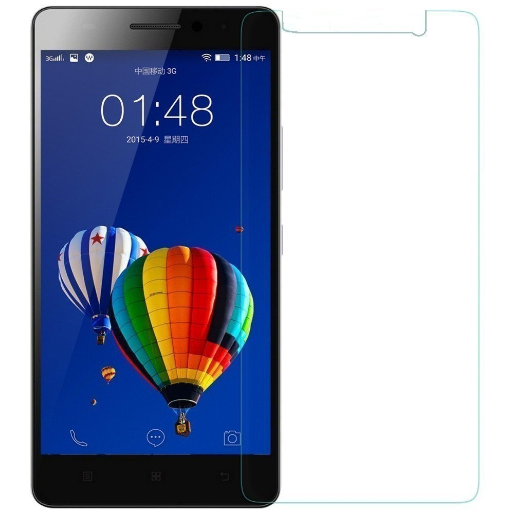 Tempered Glass for Lenovo A7000 / A7000 Turbo / Lenovo K3 Note plus Mobilia USB Data Cable & OTG Cable