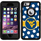 iPhone 6/6s Defender Case with West Virginia Polka Dots, Full-Color Design