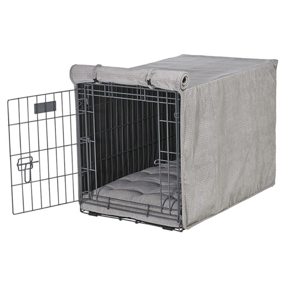 Bowsers Luxury Crate Cover, X-Large, Silver Treats