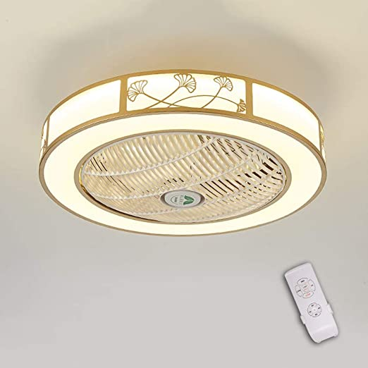 LED invisible ventilador de techo luz, moderna LED Ventilador de ...