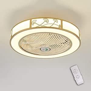 LED invisible ventilador de techo luz, moderna LED Ventilador de ...