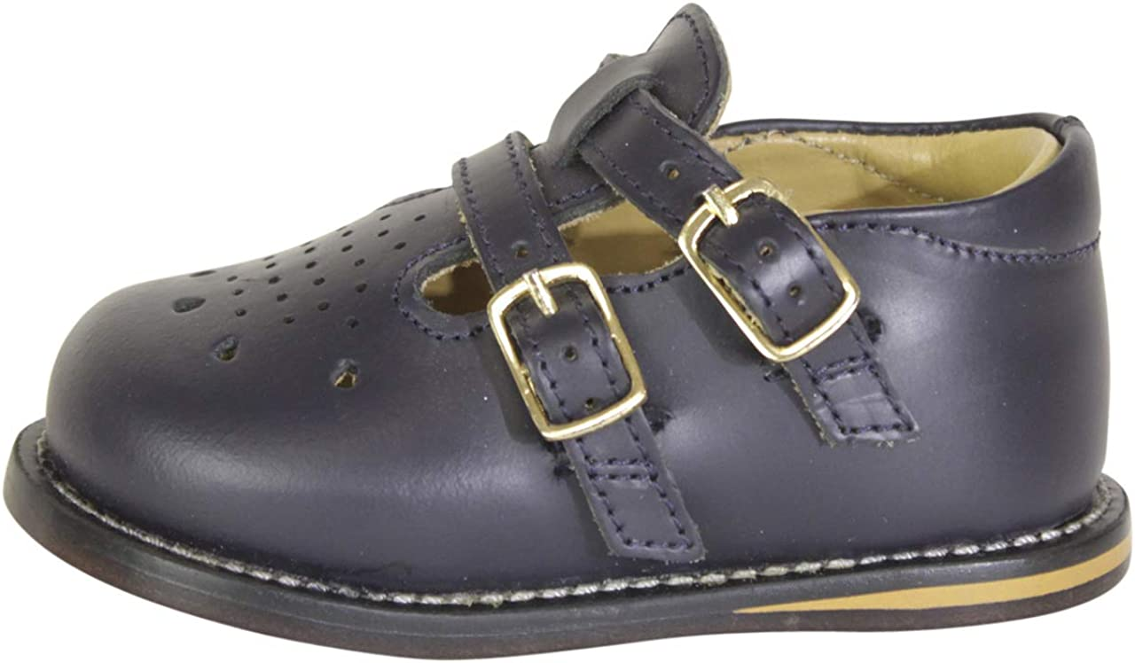 Josmo Toddlers Walker Wide Leather Walking Shoes