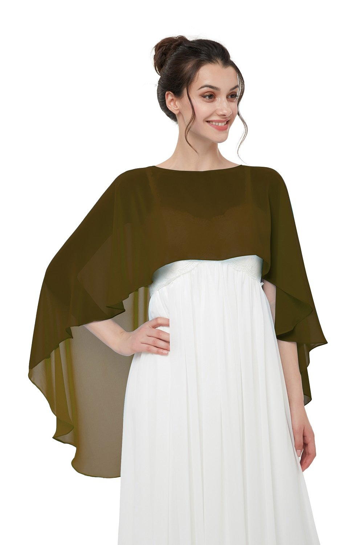Hot Dresses Women's Chiffon Soft Shawl for Weddings Evening Wraps