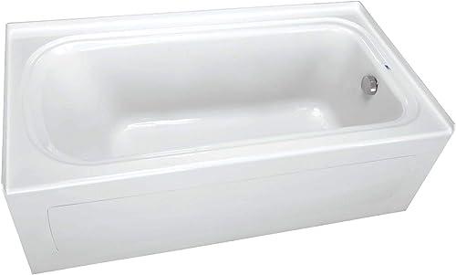 PROFLO PFS7236RSKWH PROFLO PFS7236RSK 72″ x 36″ Alcove Soaking Bath Tub
