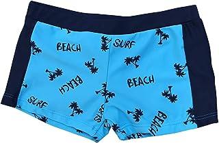 DORIC KidChildren Boys Letter Stretch Beach Swimsuit Swimwear Pants Shorts Clothes