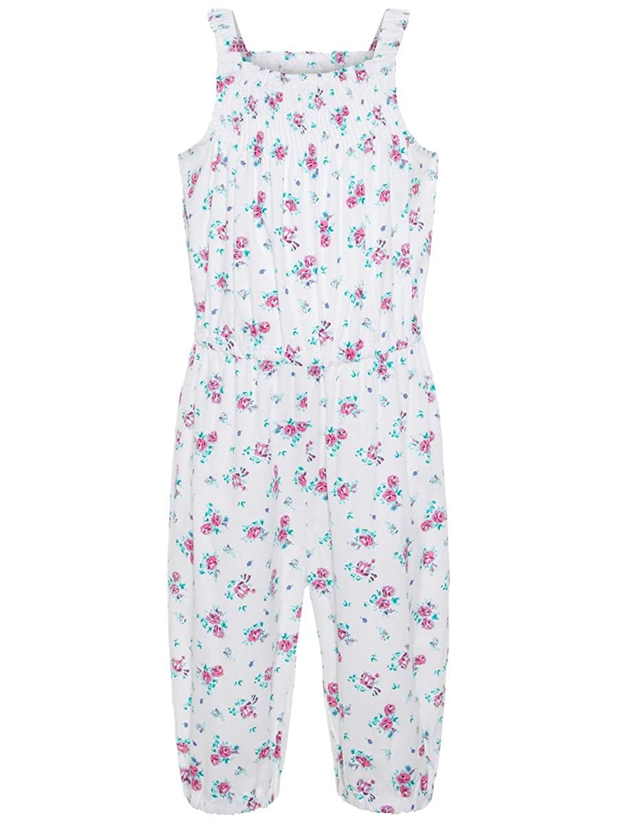 NAME IT Mini M/ädchen kurzer Sommer-Overall aus Single Jersey Nitjump